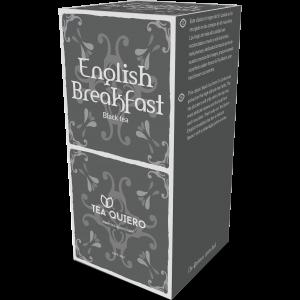 Tea Quiero English Breakfast – 8X25 Pack